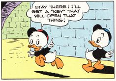 "I'll get a ""key""  