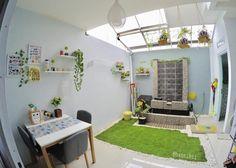 Desain Rumah Unik Tipe 45 m: Meski Mungil, Ada Indoor Garden! | IDN Times