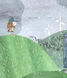 Another detail/sketch :) #childrensillustration #illustration #rain #hotel #kidslit