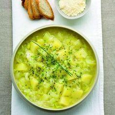 Zuppa di patate e porri | Donna Moderna