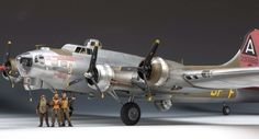1/32 B-17G by David Parker
