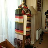 Ravelry: Sicilienne's Echarpe Dr Who