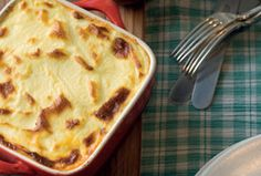 MOUSSAKA - George Calombaris recipe.  This dish is absolutely delicious (it freezes well too!)