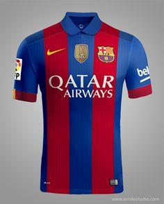 F.C. Barcelona 2016/2017 Rumores (Concept Kit) on Behance