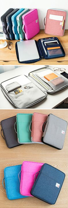 US$17.62 (48% OFF) Nylon Large Passport Bag / Business Portable Clutch Bag