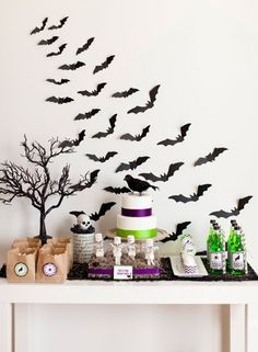 Halloween Party styled by Kim Stoegbauer, The TomKat Studio for HGTV :: DIY Crafts, Recipes, Games + Free Printables!