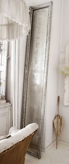 ✣ French Country Farmhouse ✣   floor mirror