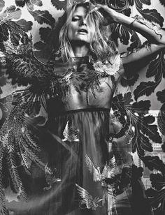 """Malgosia Bela in """"The Story of M"""" by Craig McDean for Vogue Italia, October 2014"""