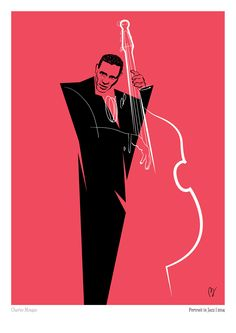 Portrait in Jazz on Behance Jazz Club, Music Illustration, Illustrations, Charles Mingus, Jazz Poster, Jazz Art, Jazz Musicians, Album Design, Art Music