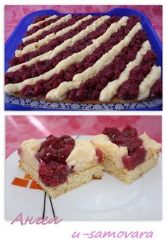Ciasto wiśniowo-waniliowe