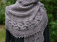 $6.65 for this pattern - Miss Dashwood Shawl by Paulina Popiolek