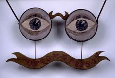 Optometrist's Trade Sign / Late 19th Century - early 20th Century / American
