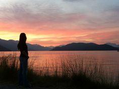 Harrison Hot springs sunset