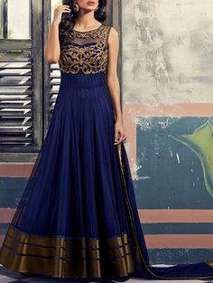 Indian Bollywood Ethnic Designer Anarkali Salwar Kameez Suit Traditional Dress in Clothes, Shoes & Accessories, Women's Clothing, Other Women's Clothing Designer Salwar Kameez, Designer Anarkali, Pakistani Party Wear Dresses, Indian Dresses, Indian Outfits, Anarkali Suits With Price, Salwar Suits, Anarkali Dress, Lehenga