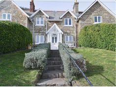 Holiday Accommodation, Isle Of Wight, Cabin, Mansions, House Styles, Home Decor, Decoration Home, Manor Houses, Room Decor