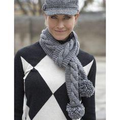 Easy Women's Scarf Knit Pattern