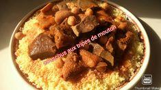 #Couscous aux tripes de mouton 🐑a la sauce rouge  #طعام بالدوارة @ R7 #3 Couscous, Beef, Food, Sheep, Meat, Essen, Meals, Yemek, Eten