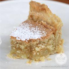 Receita Torta Santiago - Passo a Passo com foots - Recipe with step by step pictures - Madame Criativa www.madamecriativa.com.br