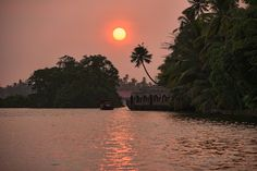 https://flic.kr/p/efTr5c | sunset along the Malabar coast in the backwaters of Kerala, India | sunset along the Malabar coast in the backwaters of Kerala, India
