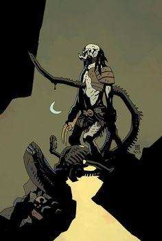 Preview of Alien vs. Predator: Fire and Stone #1 (Dark Horse)