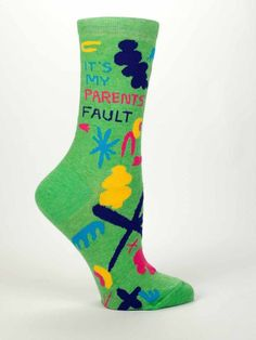 Women's Crew Socks - Carpe The F**** - Funny, Quirky, Novelty Gifts
