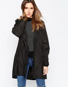 Image 1 of Brave Soul Hooded Rain Trench