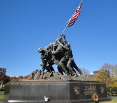 Iwo Jima Memorial - If I would have only know I would meet and marry my own Marine in just 4 years.