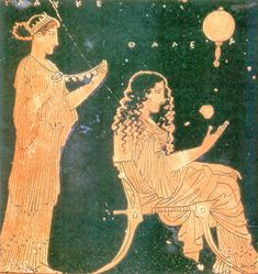 File:Preparations for a wedding - ancient Greek ceramic painting. Ancient Greek Art, Ancient Greece, Greek History, Art History, Hellenistic Period, Hellenistic Art, Greek Paintings, Art Through The Ages, Museums