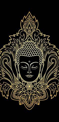 Art Discover Meditation Mantra Perfect mantra for cleaning your soul. Art Buddha, Buddha Drawing, Buddha Kunst, Buddha Painting, Buda Wallpaper, Natur Wallpaper, Buddhism Wallpaper, Spiritual Wallpaper, Paz Hippie