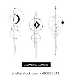 Find Tribal Geometric Minimalism High Quality Isolated stock images in HD and millions of other royalty-free stock photos, illustrations and vectors in the Shutterstock collection. Thousands of new, high-quality pictures added every day. Geometric Compass, Geometric Art, Geometric Designs, Simbolos Tattoo, Body Art Tattoos, Geometric Shape Tattoo, Widder Tattoo, Tattoo Background, Small Tattoos For Guys