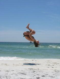 backtucks on the beach :]
