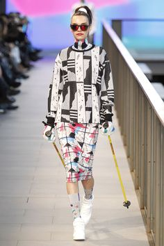 Krizia Robustella 007 080 Barcelona, Barcelona Fashion, Print Patterns, Harajuku, Autumn Fashion, Fall Winter, Snow Patrol, Hot, Collection