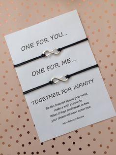 Infinity Wish Bracelet  Infinity String Bracelet  Infinity