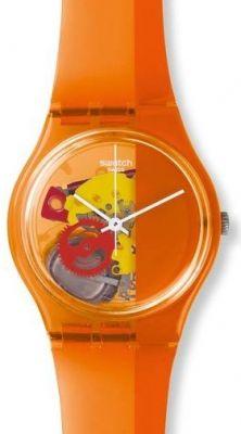 4d2c9e38e41 Swatch GO116 Bayan kol saati See Through Watch