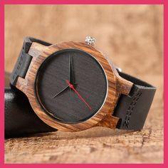 Fashion Top Gift Item Wood Watches Men's Analog Simple Bmaboo Hand-made Wrist Watch Male Sports Quartz Watch Reloj de madera