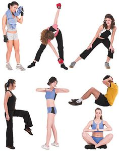 DOSCH DESIGN - DOSCH 2D Viz-Images: People - Fitness
