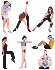 DOSCH DESIGN - DOSCH 2D Viz-Images: People - Fitness