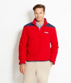 Men's Pullovers: Vineyard Vines Signature Quarter-Zip Shep Shirts ...