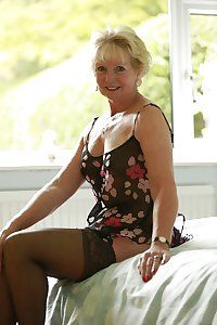 Mature wife with