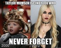 omg, look at her now