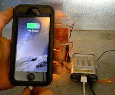 Recycled Energy - $7.50 Generator! - ThermoElectric Generator