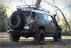 Toyota FJ Cruiser by XPLORE Adventure Series. Lets change all the paint to black and keep everything else. Perfect!