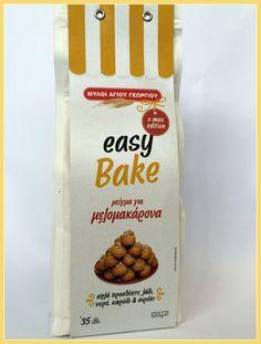 Μείγμα για μελομακάρονα Easy Bake Μύλοι Αγίου Γεωργίου  (νέο προϊόν) www.gourmate.gr