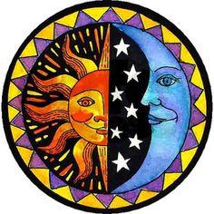 sun and moon painting Sun Moon Stars, Sun And Stars, Sun And Moon Drawings, Tableau Pop Art, Moon Painting, Sun Art, Cartoon Sun, Hippie Art, Mexican Folk Art