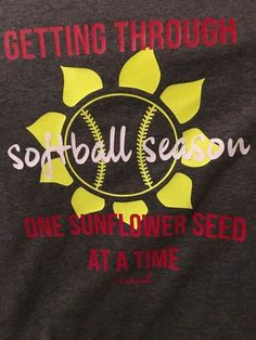 Baseball and softball! - Shenanigans Shirt - Ideas of Shenanigans Shirt - Baseball and softball! Softball Mom Shirts, Softball Party, Softball Drills, Softball Crafts, Softball Bows, Softball Quotes, Softball Pictures, Softball Players, Girls Softball