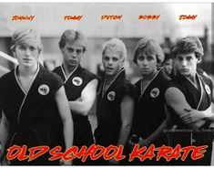 The Karate Kid 1984, Karate Kid Cobra Kai, Cobra Kai Wallpaper, William Zabka, Cobra Kai Dojo, Good Movies, 80s Movies, Blonde Boys, Actrices Hollywood