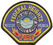Federal heights Fire Department Patch