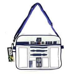 Star Wars R2-D2 ~ Deluxe Messenger Bag ~ Very cool