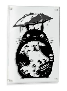 My Neighbor Totoro Studio Ghibli Haku silhouette handcut handmade PAPER CUT from one black sheet. My Neighbor Totoro Art Studio Ghibli Miyazaki Papercut Anime Mei Satsuki Catbus Soot Sprite Forest Spirit Geek Gift Ghibli Home Decor. SIZE: 14x20 (I receive a lot of requests to add things to
