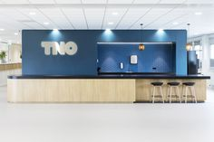 TNO Helmond – Automotive Campus by Hollandse Nieuwe - Office pantry Pantry, Holland, Flat Screen, Dutch Netherlands, Butler Pantry, Flat Screen Display, Netherlands, The Netherlands